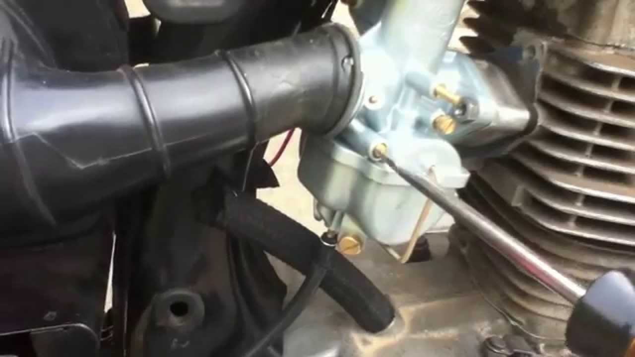 basic carburettor adjustment tuning 4 stroke and how it