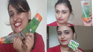 Top Uses Of Patanjali Aloe vera Gel And Review पतंजलि एलोवेरा जेल के उपयोगिता /Girlee Corner