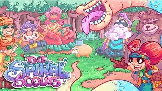 Adorable Bum Humor | The Spiral Scouts! (By The Makers of HuniePop)