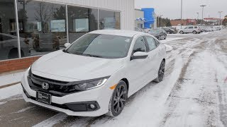 2019 Honda Civic Sport Available Features