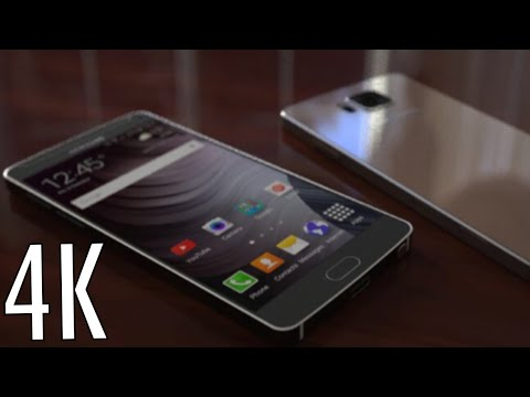 NEW Samsung Galaxy Note 5 Stunning 4K Display & Metal Design Concept HD