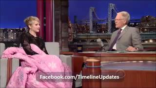 Jennifer Lawrence on David Letterman 20 November 2013 - The Hunger Games Catching Fire