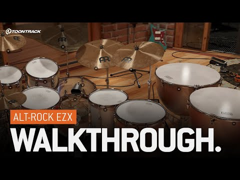 EZdrummer 2: Alt-Rock EZX – Walkthrough