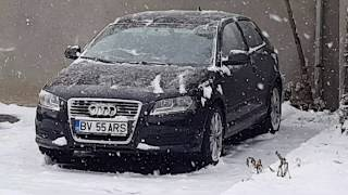 My Audi A3 8p in Winter
