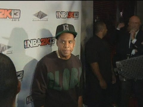 Jay-Z talks about living the American dream at the launch party for the NBA 2K13 video game