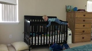 Baby Michael Escapes From Crib!!