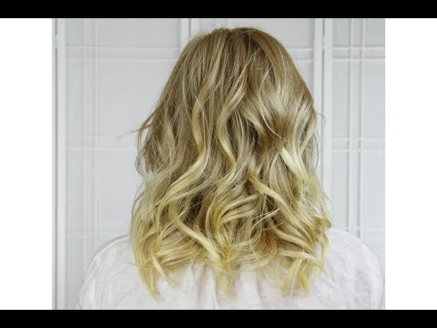Curl Short To Medium Length Hair With Flat Iron Youtube