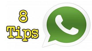 Top 8: trucos de Whatsapp que probablemente no conocías (Novatos)
