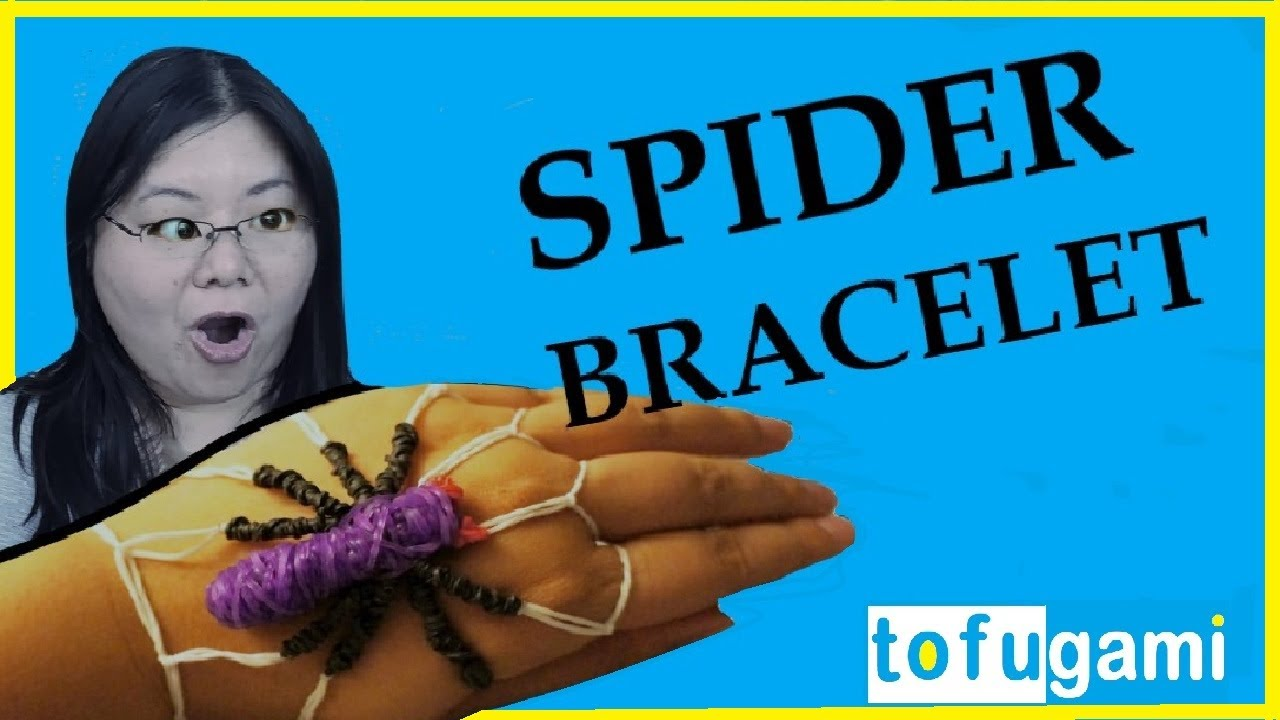 How To Make A Spider Rubber Band Bracelet No Rainbow Loom
