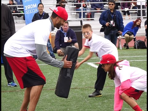 WOW! 49ers Colin Kaepernick Coaches Kids at 2015 ProCamps! Highlights & Recap!