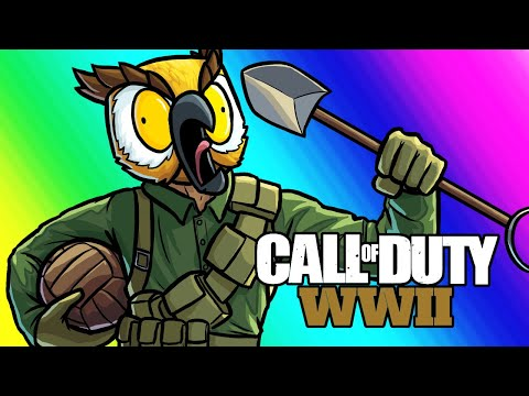 Call of Duty WW2 Funny Moments - Gridiron Ball!!