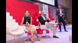 Rafael Vogel (Lima Consulting Group) and Gabriela Monteiro (Sanofi) @ French Tech Tour 2018