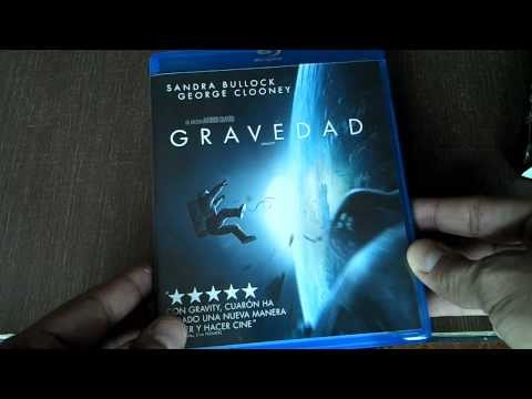 Gravedad (Gravity) Bluray Unboxing en Espa�ol