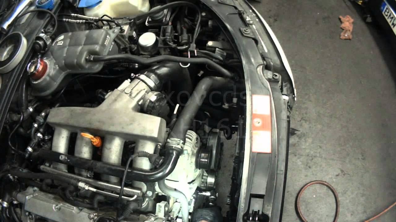 2001 audi tt quattro oil change 16