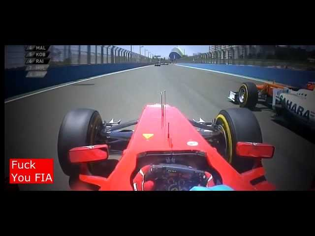 F1 2012 Valencia GP Fernando Alonso HD   YouTube