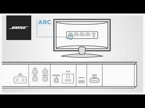 Bose Soundbar Systems - Using HDMI™ ARC
