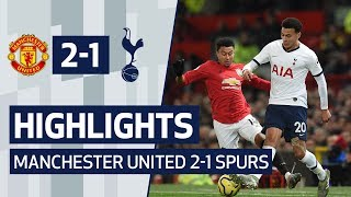 HIGHLIGHTS | MANCHESTER UNITED 2-1 SPURS