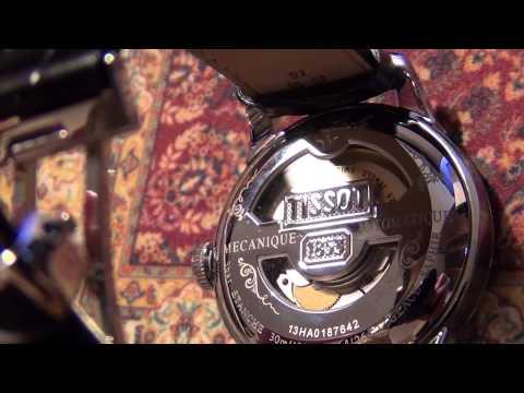 Видео как проверить подлинность часов Tissot
