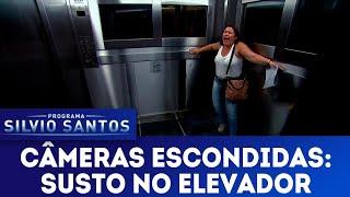 Susto no Elevador - Scary Lift Prank | Câmeras Escondidas (17/06/18)