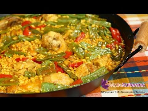 Valencian paella - recipe