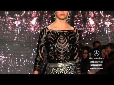 NAEEM KHAN - MERCEDES-BENZ FASHION WEEK FALL 2012 COLLECTIONS