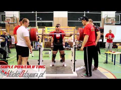 Tomasz Jarosiewicz squat -   300kg | weight class - 83kg |