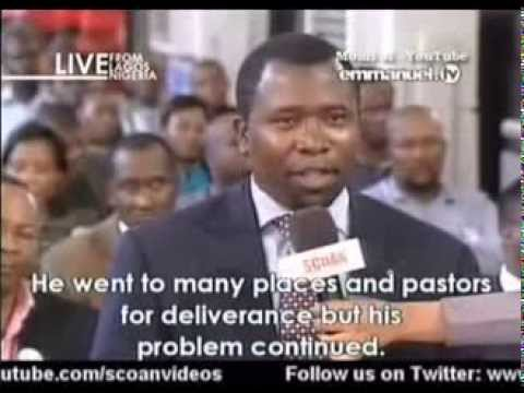 SCOAN 09 Feb 2014: MUST WATCH: Anointing Water And Sticker Testimony Time, Jesus Lives, Emmanuel TV