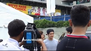 JaDine Off-Cam Kapamilya Krismas 3 in Trinoma Mindanao Open Parking