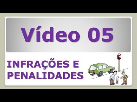 INFRAÇÕES E PENALIDADES 05