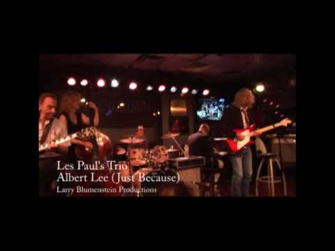 Les Paul's Trio with Albert Lee playing