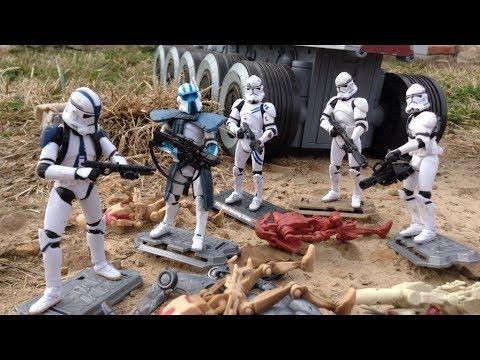 Star Wars Stop-Motion: Turbo Tank Defense