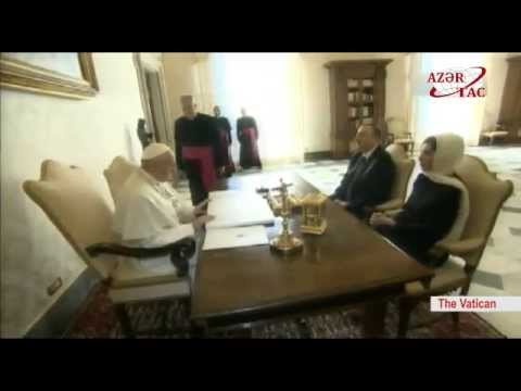 President Ilham Aliyev met head of the Catholic Church Pope Francis