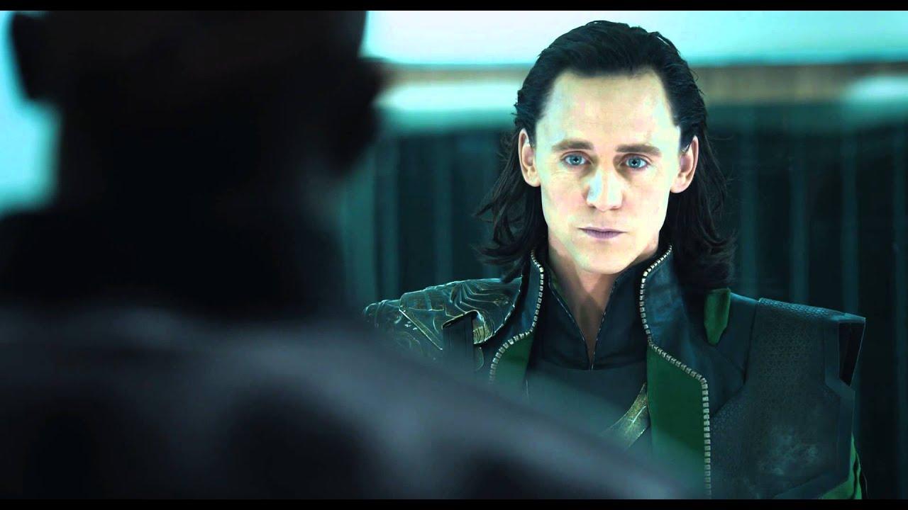 The Avengers Los Vengadores Escena De Loki En Prision Doblado