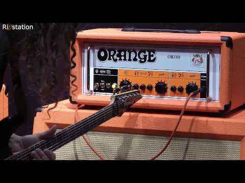 Chappers at NAMM 2013 - Orange Amps