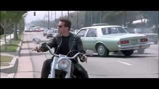 Terminator 2 Judgement Day Sharp Bike Turn