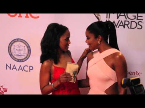 Kerry Washington, Angela Bassett & Gabriel Union at NAACP Awards