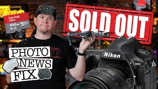 Nikon D850 SOLD OUT, SONY Challenges GoPro, DJI Launches Mavic Pro Platinum: Photo News Fix