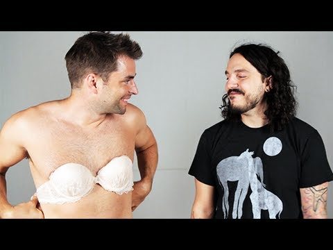 touthing no bras from male
