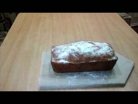 Ароматный кекс с сухофруктами