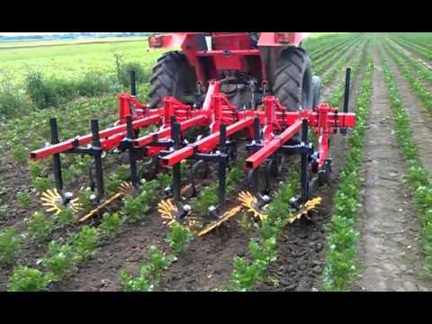 Matermacc kultivator i Fingerweeder