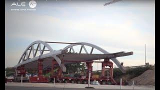 Safer bridge installation for Erlangen Bridge, Germany