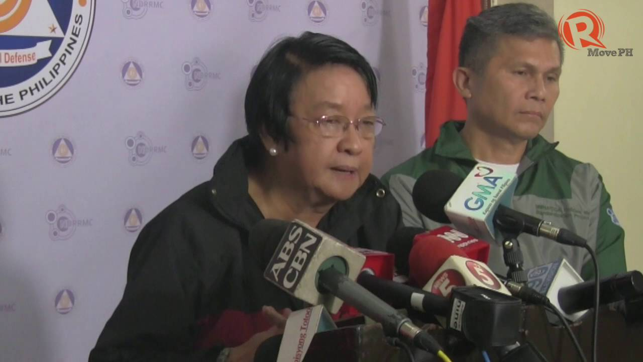 DSWD Sec Taguiwalo to mountaineers: Don't risk your lives during disasters