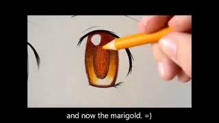 3 Ways to Color Eyes with Colored Pencils