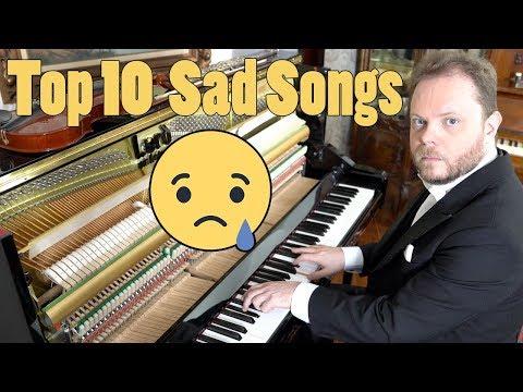 Top 10 Sad Songs on Piano Vídeos de zueiras e brincadeiras: zuera, video clips, brincadeiras, pegadinhas, lançamentos, vídeos, sustos