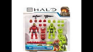 2015 Halo Mega Bloks Spartan Customizer Pack Set 97452