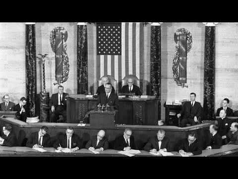 "Excerpt: LBJ's Voting Rights Speech  ""The  American Promise"""