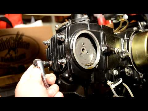 Valve Replacement on Lifan Pit Bike Motor - Part 1. Dissassembly