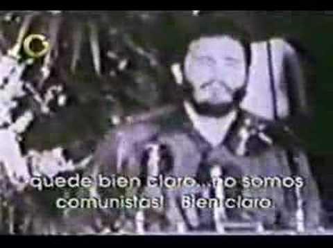"""CUBA - FIDEL: """"NO SOMOS COMUNISTAS"""""""