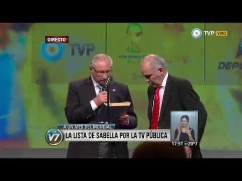 Visión 7 - Brasil 2014: Los 30 de Sabella y la programación de TV para todo el país (2 de 3)