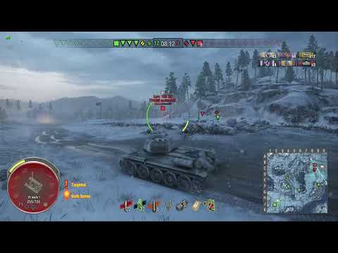 World of Tanks Xbox one T-34-85 Rudy 4 Kills